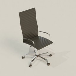 Thumbnail: Leather Office Chair