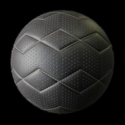 Thumbnail: Calskin leather zigzag