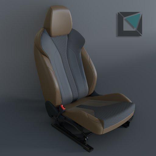 Thumbnail: Skoda Enyaq 2021 Seat
