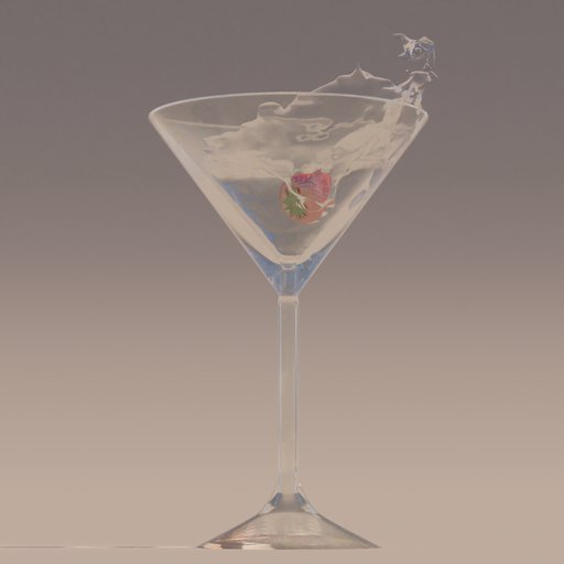 Thumbnail: Martini Glass with strawberry