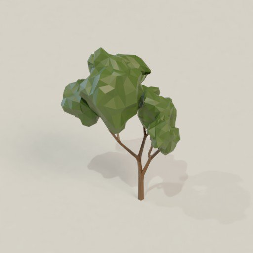 Thumbnail: Low poly tree 2