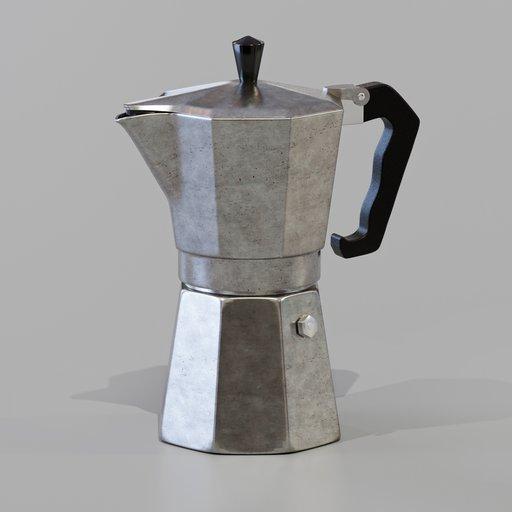Thumbnail: Moka coffee maker