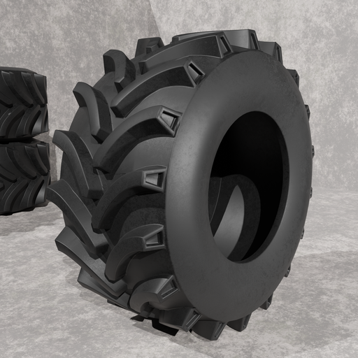 Thumbnail: Tractor tire without a rim