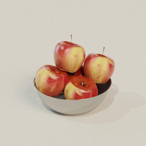 Thumbnail: Apple in bowl