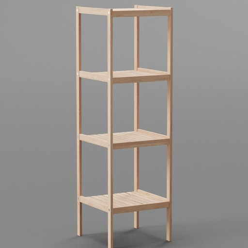 Thumbnail: Bamboo 4 Tier Shelf