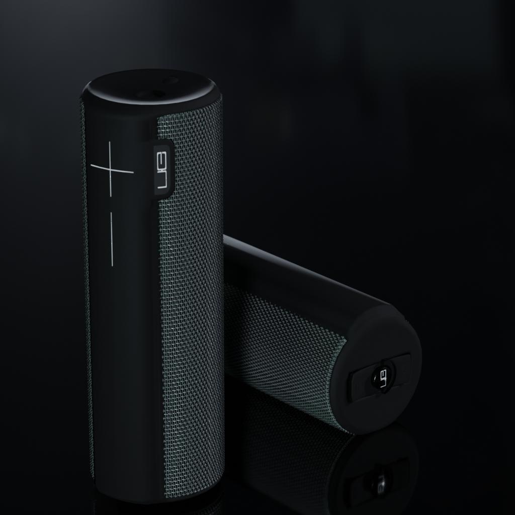 BlenderKit Audio Model: UE Boom Speaker By Stan Hristov
