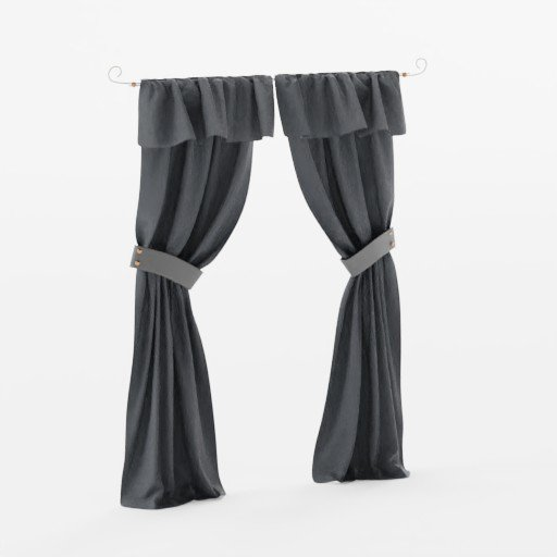 Curtain Copper black