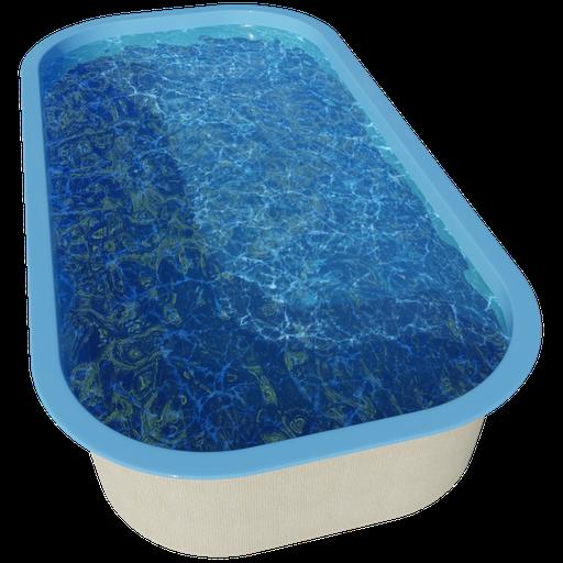 Thumbnail: Swimming pool - 7.1 x 3.7 x 1.4 - dw21a3b