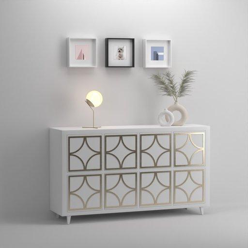 Ikea Side board Table Kallax