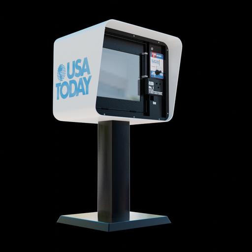 Thumbnail: Newspaper Vending Machine