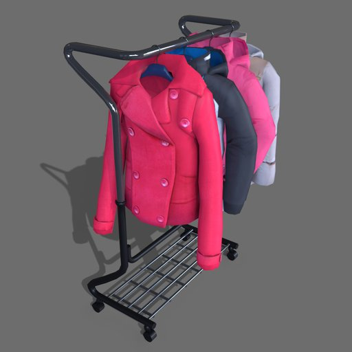 #1 jackets on a hanger