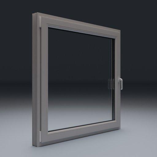 Thumbnail: Plastic Window 145x140 cm