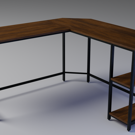 Thumbnail: Vintage Corner Desk