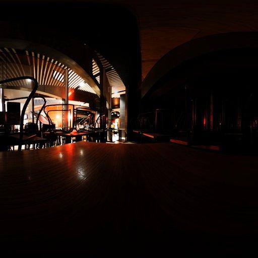 Thumbnail: Empty Cafe 4k Hdri
