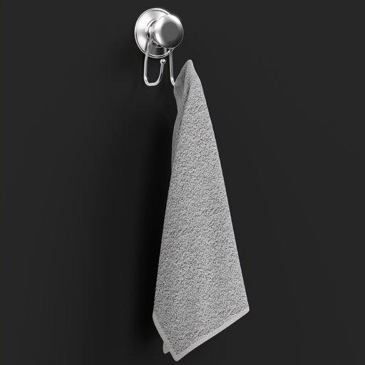 Thumbnail: Hook Towel Hanger