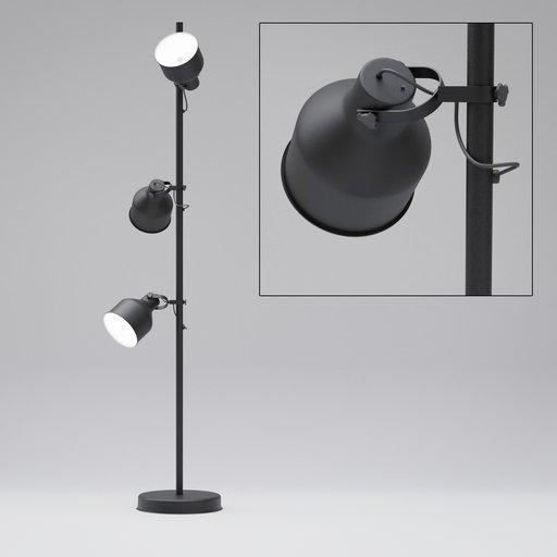 Thumbnail: Floor Lamp with three lights