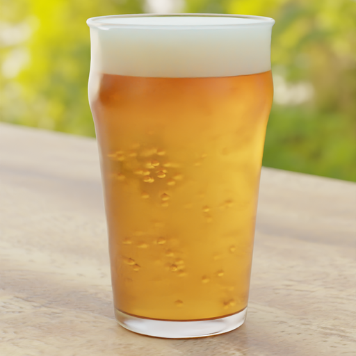 Thumbnail: Beer Glass With Bubbles