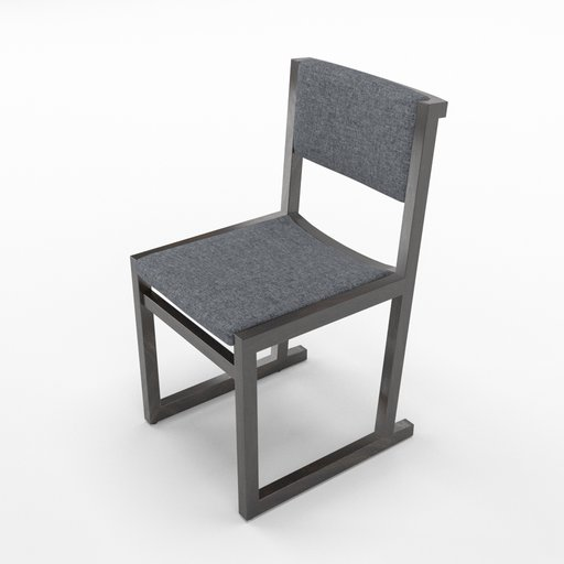 Thumbnail: Camerich Emily dining chair, fabric seating