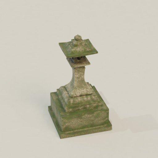 Thumbnail: Japanese Temple Lantern
