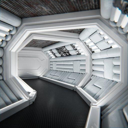 Thumbnail: Spaceship Corridor