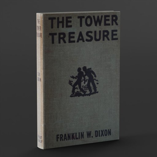 OLD BOOK: The Tower Treasure