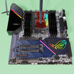Thumbnail: ASUS ROG Zenith Extreme Alpha X399 motherboard