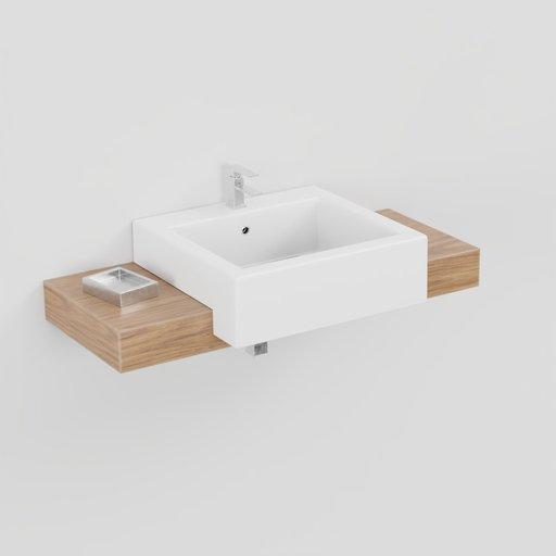 Wash basin modern