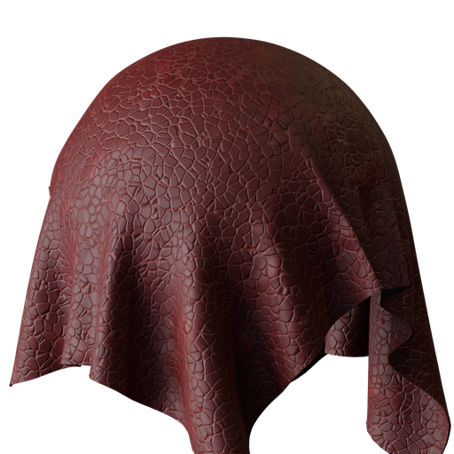 Thumbnail: Procedural Leather Red