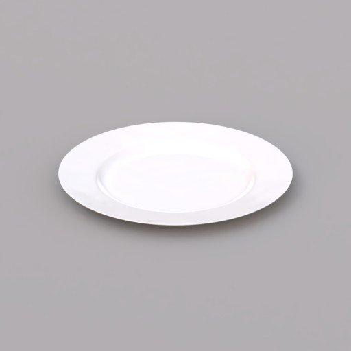 Thumbnail: white plate shallow