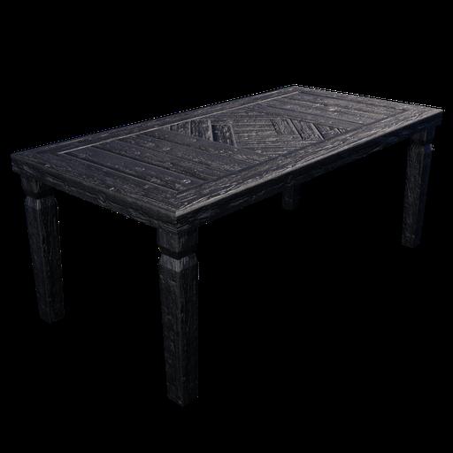 Thumbnail: Rustic Table - Black