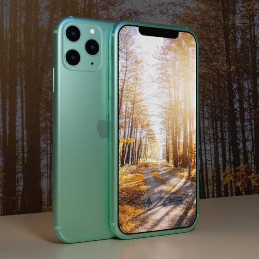 Thumbnail: Iphone 11 Pro Max (Cyan)