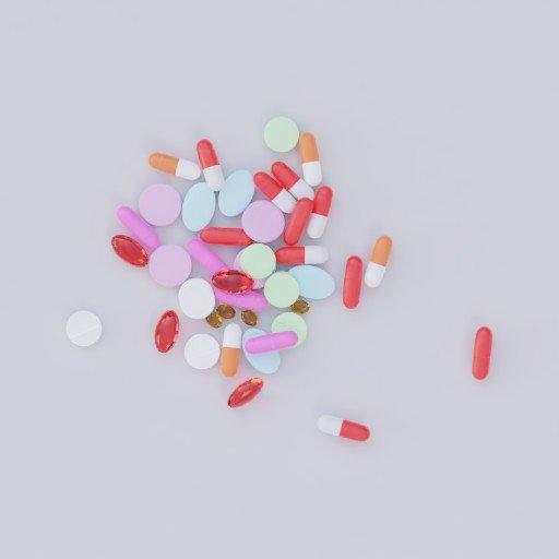 Thumbnail: scattered pills