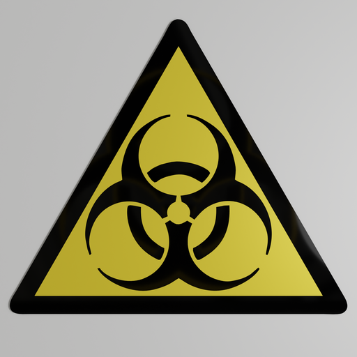 Thumbnail: Biohazard warning sign