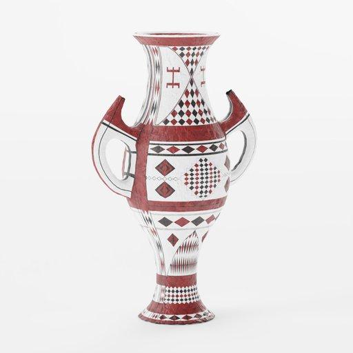 Thumbnail: White Big Berber Vase