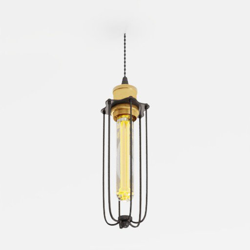 Thumbnail: Industrial Ceiling Lamp