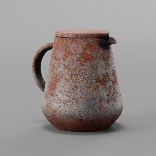 Thumbnail: Teapot rusted