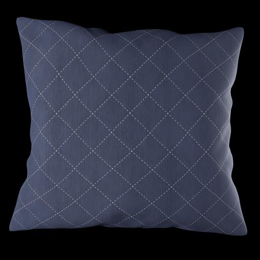 Thumbnail: Blue pillow