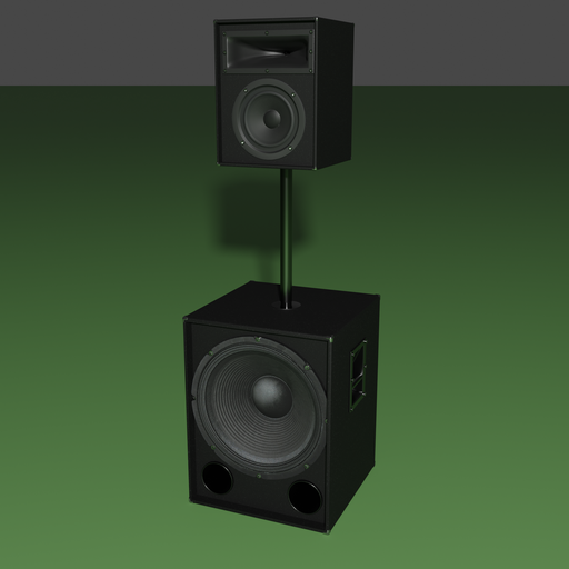 Thumbnail: 3 way speakers pair 1000 watts.