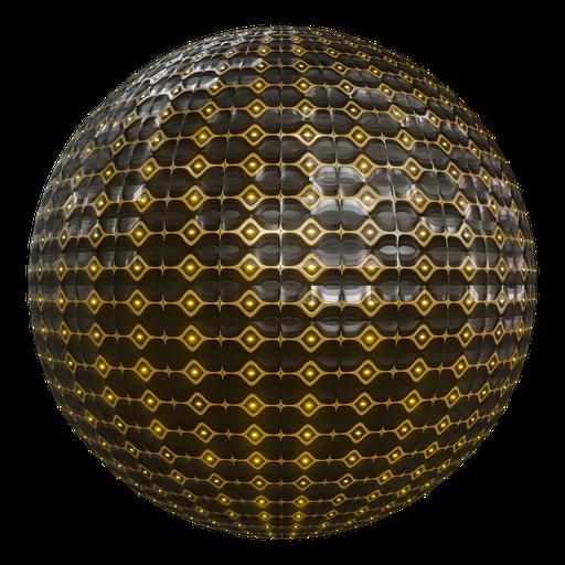 Procedural Sci-fi Ornament