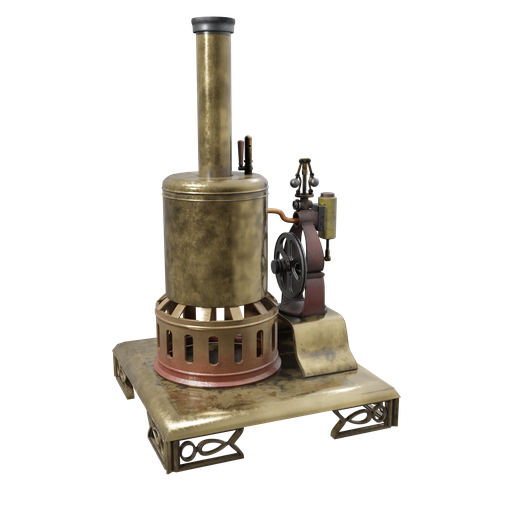 Thumbnail: Steam Engine Toy 04