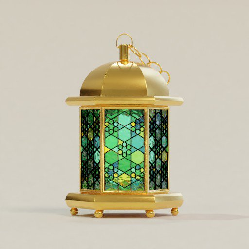Thumbnail: Stained Glass Lantern