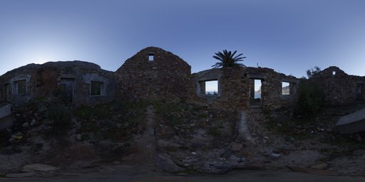Roofless Ruins