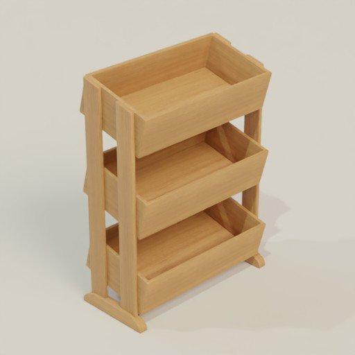 Thumbnail: Rack Shelving Bookcase 94 x 40 x 116