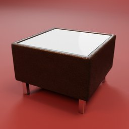 Thumbnail: Coffe table office leather