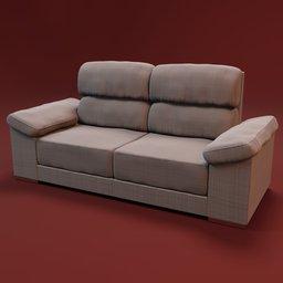 Thumbnail: Sofa Noeami 2 seats