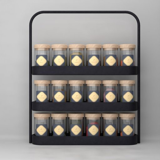 Counter Top Spices Rack