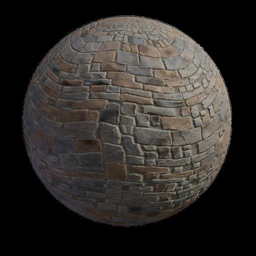 Thumbnail: Brick sidewalk