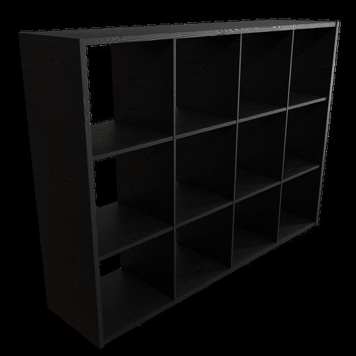 Thumbnail: Kallax 4x3 Black