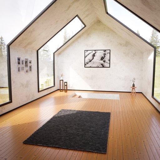 Thumbnail: Modern Room with Skylight windows