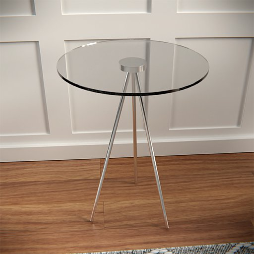 Thumbnail: Round side table